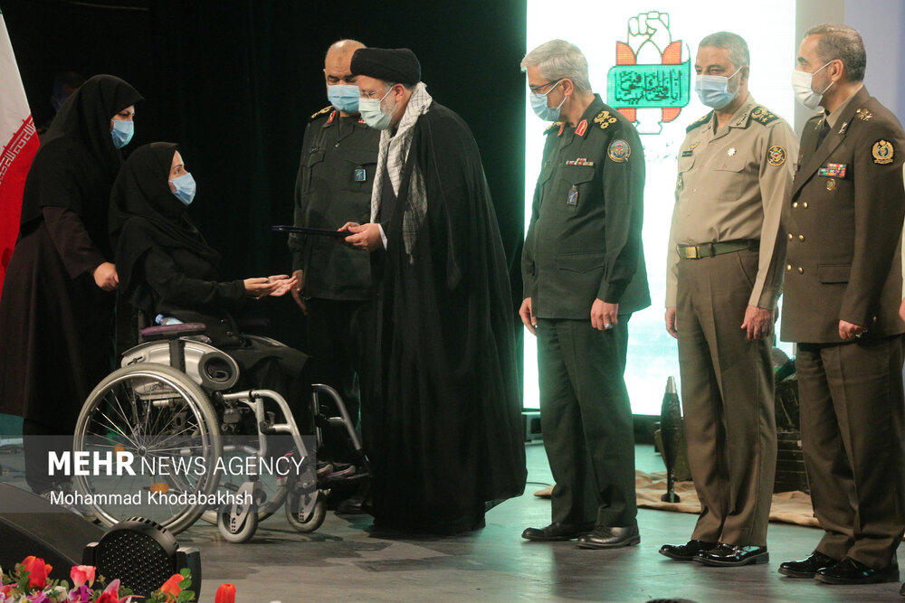 Honoringceremony of war veterans,martyrs of Holy Defense