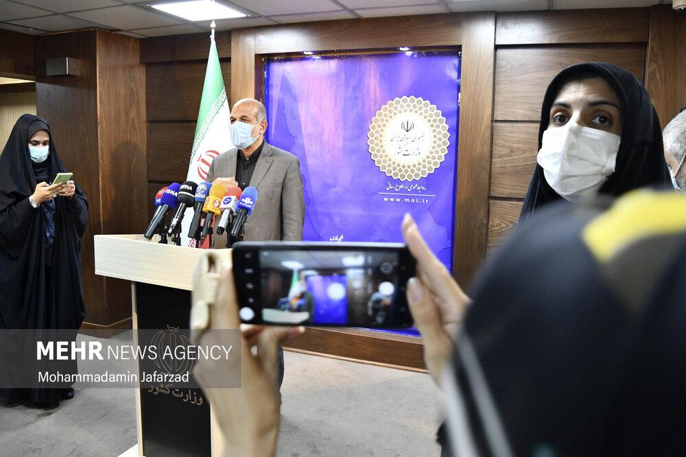جلسه قرارگاه عملیاتی ستاد ملی مبارزه کرونا