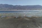 تصاویر هوایی از «چغاخور»/ ذخیره آب تالاب بینالمللی کاهش یافت