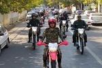 رژه یگانهای خودرویی نظامی، انتظامی و مرزبانی در آستارا