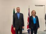 وزيرة الخارجية البريطانية: تعلن استعداد بريطانيا لسداد ديونها لإيران