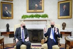 جونسون وبايدن: موقفنا تجاه روسيا والصين سيكون مبنيا على قيمنا المشتركة