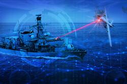 ارتش انگلیس به دنبال ساخت سلاح لیزری برای نیروی دریایی