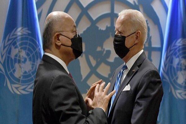 برهم صالح يلتقي جو بايدن / محادثات استراتيجية بين بغداد وواشنطن