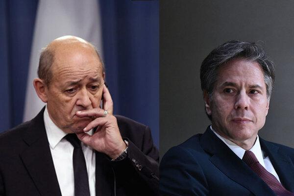دیدار بلینکن و لودریان لغو شد