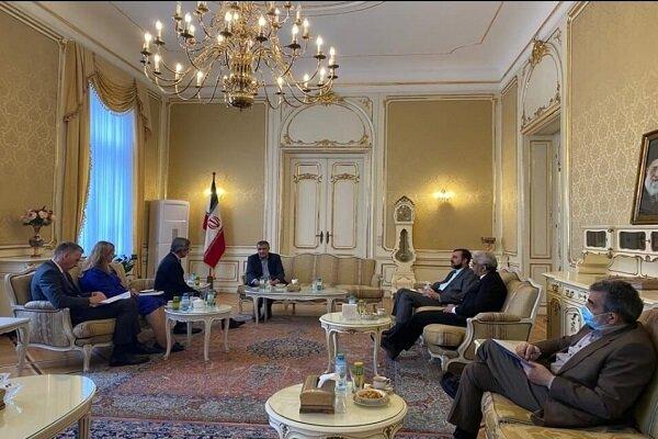Iran nuclear chief, Austria diplomat discuss JCPOA in Vienna