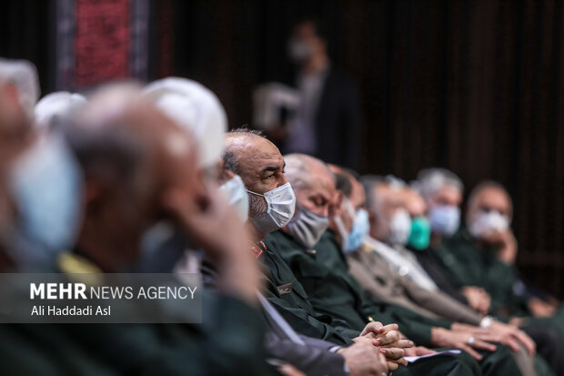 سردار سلامی فرمانده کل سپاه پاسداران  در سومین همایش یادها و نام ها حضور دارد