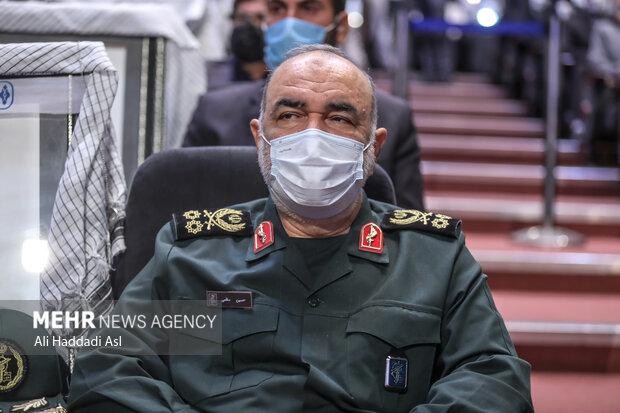 سردار محمد سلامی فرمانده کل سپاه پاسداران در سومین همایش یادها و نامها حضور دارد