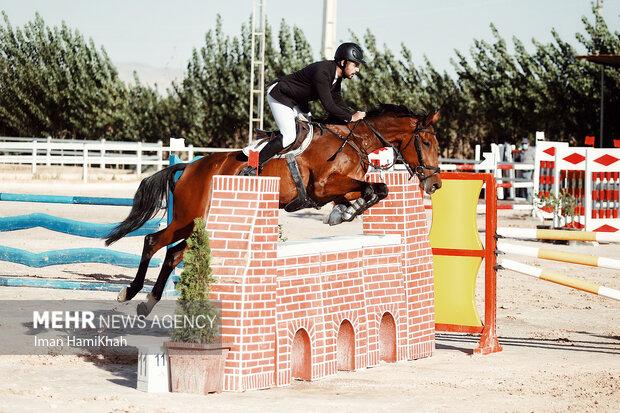 مسابقات پرش با اسب قهرمانی همدان