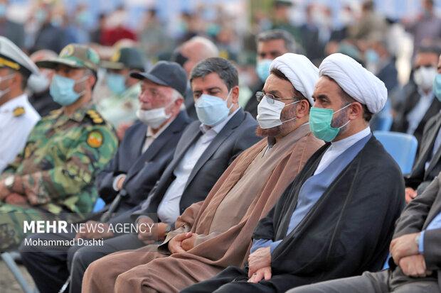 افتتاح نمایشگاه رزمی و فرهنگی دفاع مقدس در اردبیل