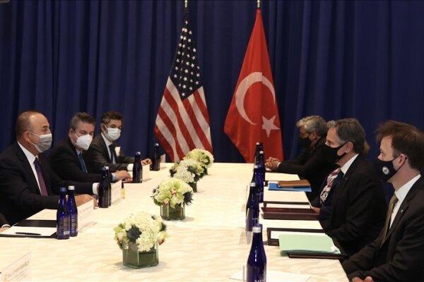 وعده وزرای خارجه ترکیه و آمریکا به تداوم همکاری در مورد افغانستان