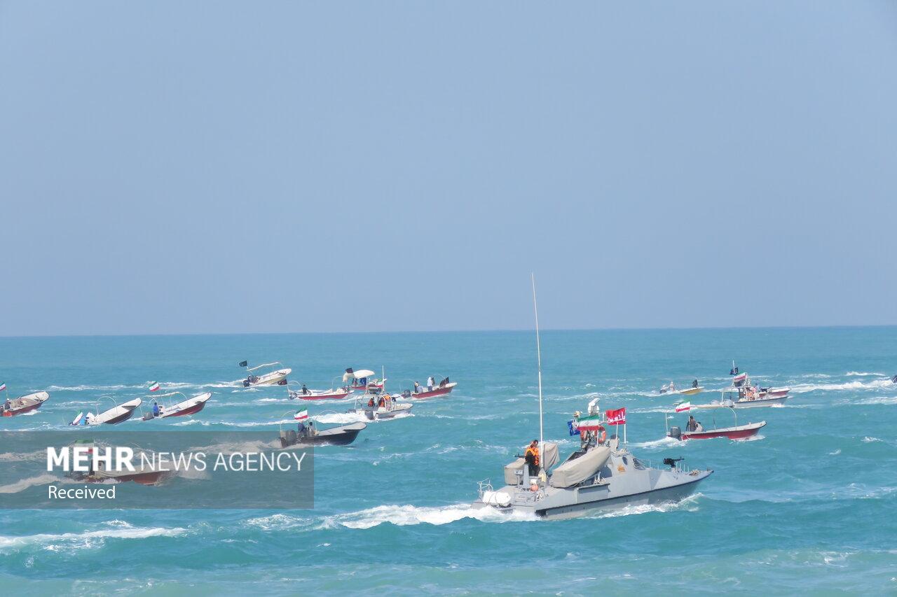رصد تحرک شناورهای دشمن در خلیج فارس/آماده پاسخ به هر اقدامی هستیم
