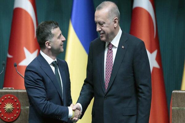 زلنسکی و اردوغان با یکدیگر دیدار کردند