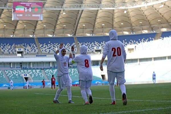 Iran trounce Bangaldesh at AFC Women's Asian Cup qualifiers