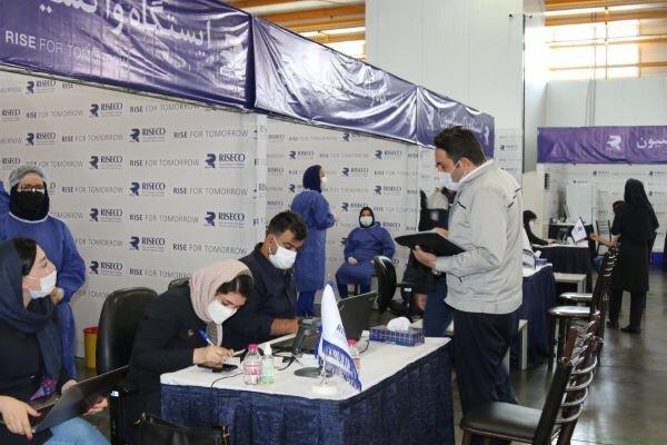 مرحله اول واکسیناسیون در مجتمع صنعتی «رایزکو» به پایان رسید