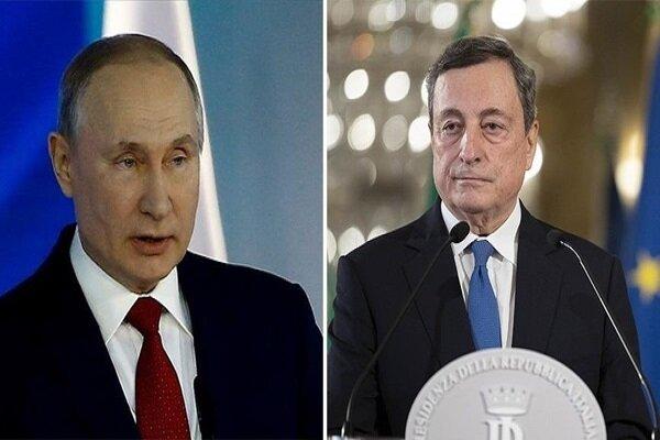 پوتین و نخستوزیر ایتالیا درباره افغانستان گفتگو کردند