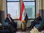 امیر عبداللهیان با رئیس جمهور عراق دیدار کرد