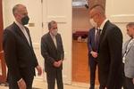 مشاورات دبلوماسية بين وزيري خارجية إيران والمجر