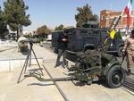 نمایشگاه ادوات نظامی گردان فاتحین سپاه در ورامین افتتاح شد