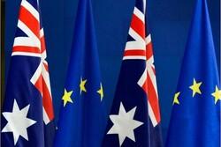 استرالیا بدنبال امضای توافق تجارت آزاد با اتحادیه اروپا است