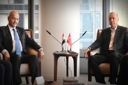 محورهای مهم دیدار رئیس جمهوری ترکیه با همتای عراقی
