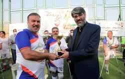قدردانی از جانبازان ورزشکار توسط رئیس سازمان زندانها