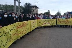 کارکنان مخابرات گیلان و سازمان چای مطالبات خود را مطرح کردند
