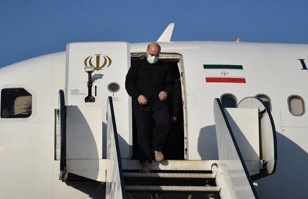 ایرانی پارلیمنٹ کے اسپیکر ایک روزہ دورے پر گیلان پہنچ گئے