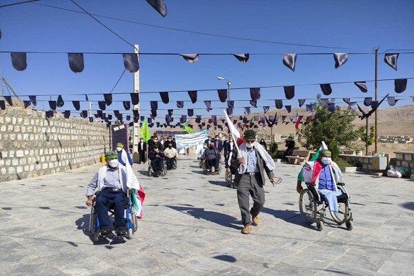 «همایش ویلچررانی» جانبازان در چهارمحال و بختیاری برگزار شد