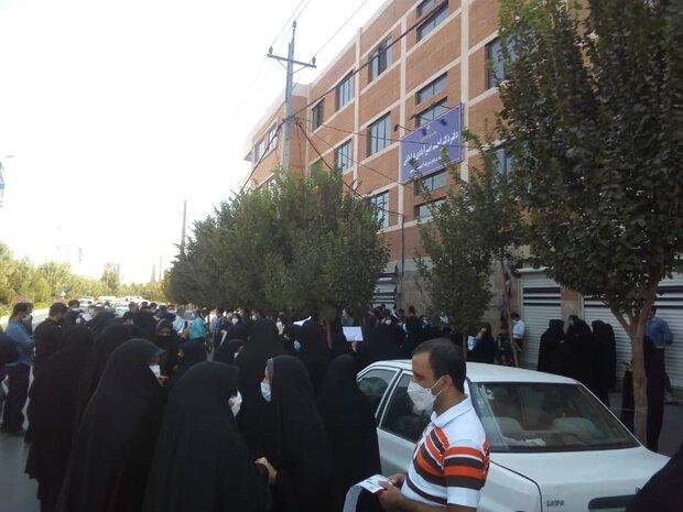 اعتراض فرهنگیان قمی به عدم اعمال قانون رتبه بندی