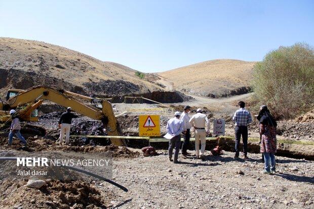 پروژه انتقال آب سد آزاد به تصفیه خانه سنندج
