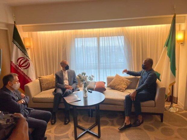 سیاست دولت گسترش همهجانبه روابط با آفریقا خواهد بود