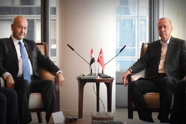 در دیدار اردوغان با برهم صالح چه رخ داد؟