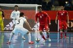 المنتخب الوطني لكرة الصالات يقصي أوزبكستان ويتأهل لمرحلة الدور ربع النهائي