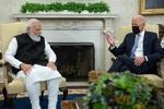 وائٹ ہاؤس میں  بھارتی وزیراعظم اور امریکی صدر جو بایڈن کی ملاقات