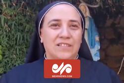 Hıristiyan rahibeden Seyyid Hasan Nasrullah'a teşekkür