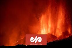پنجمین روز فوران آتشفشان لاپالما در جزایر قناری