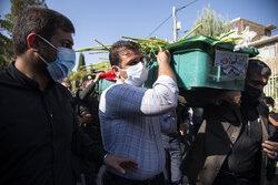 ایران کے فداکار نوجوان علی لندی کی تشییع جنازہ