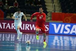 مصدومیت بازیکن تیم ملی فوتسال در دیدار با ازبکستان