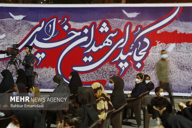 """برگزاری اولین یادواره """"لالههای گردان 422"""" استان هرمزگان"""