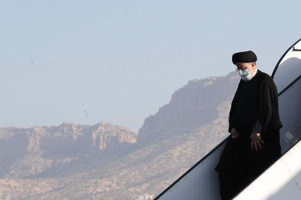 President Raeisi's visit to Ilam Province