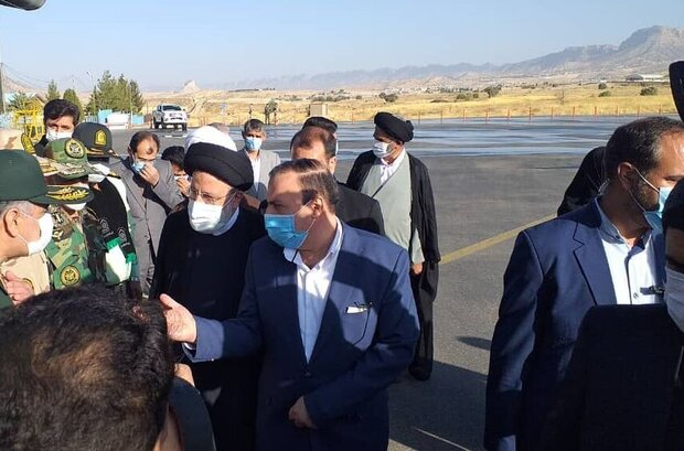 Cumhurbaşkanı Reisi'nin İlam ziyaretinden kareler