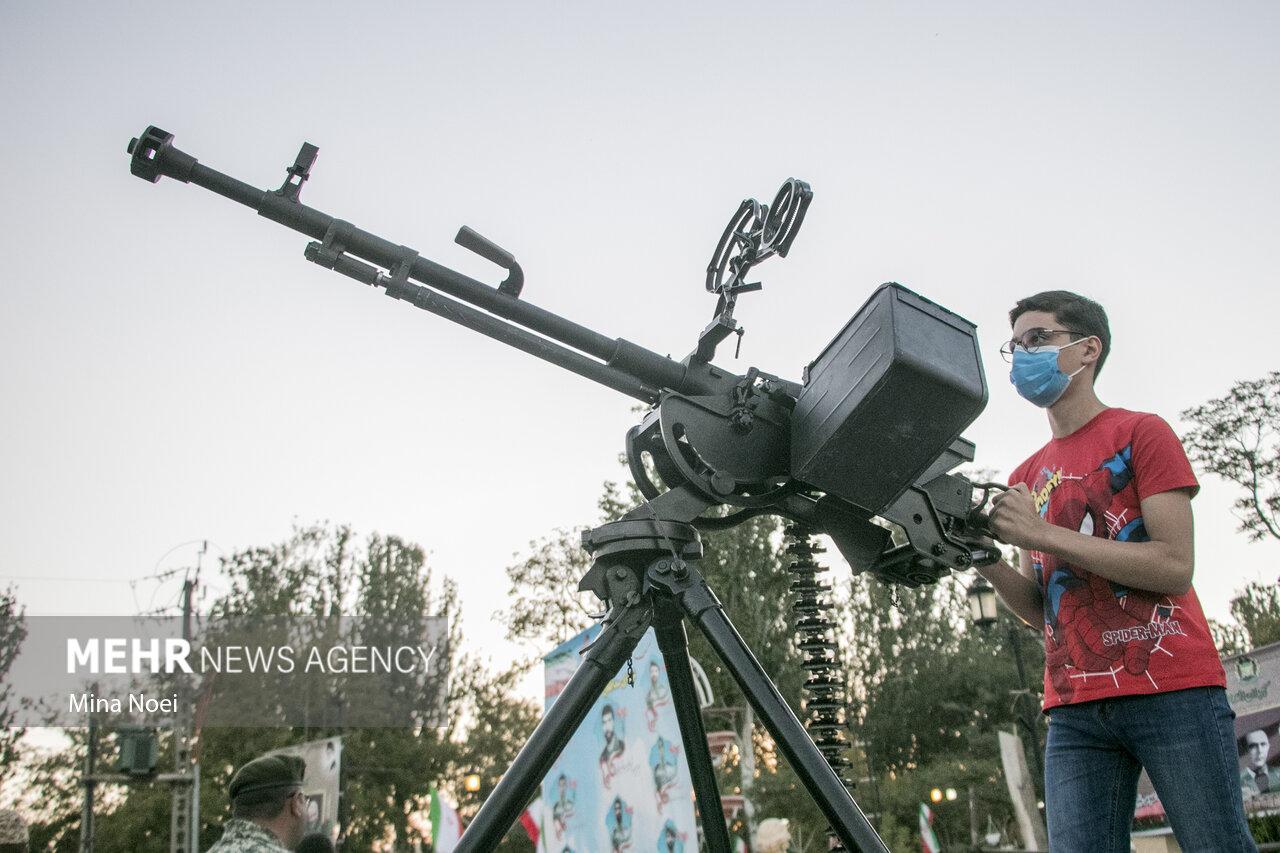 نمایشگاه دفاع مقدس در تبریز