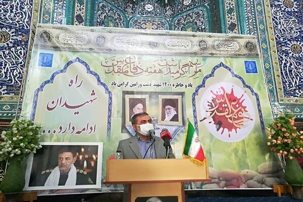 جبهه مقاومت اسلامی حاصل رشادت های دفاع مقدس است