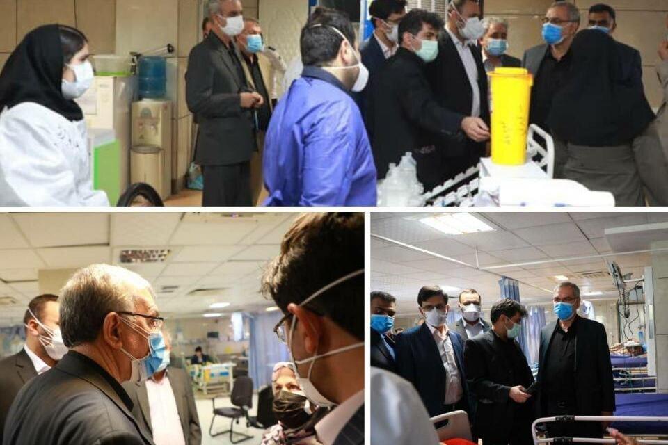 وزیر بهداشت از بیمارستان شهید مصطفی خمینی ایلام بازدید کرد