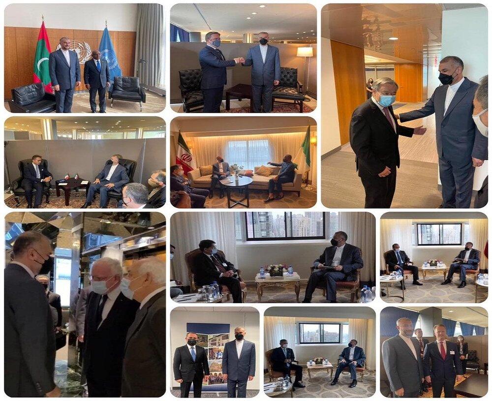 گزارش «خطیبزاده» از دیدارهای وزیر امور خارجه در نیویورک