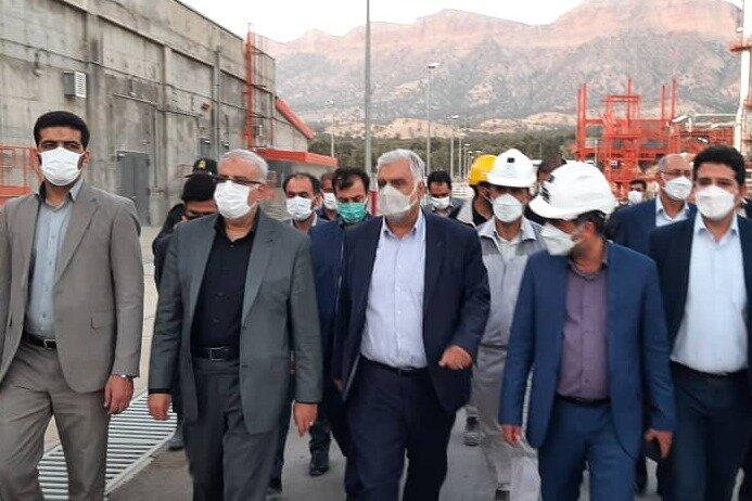 وزیر نفت از پتروشمی ایلام بازدید کرد