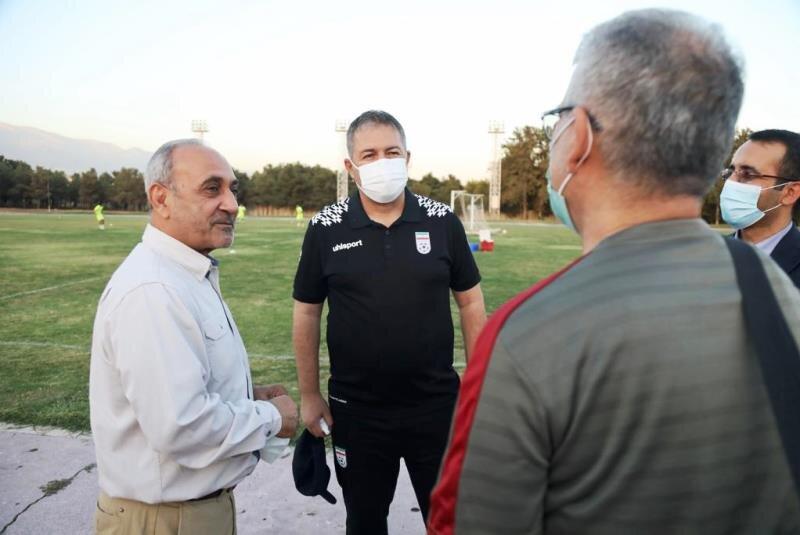 اسکوچیچ میهمان ویژه تمرین  فولاد خوزستان است