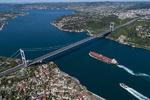 برخورد کشتیهای روسی و ترکیهای در تنگه بسفر