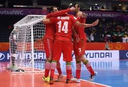 گلزنی ۸ بازیکن تیم ملی فوتسال ایران در جام جهانی و ۱۷ گل زده